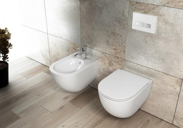 Isvea Infinity Clearim Plus Dusch WC Set