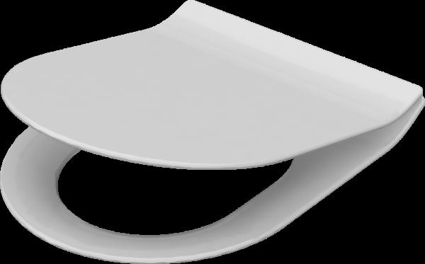 Idevit Alfa Ultra Slim Duroplast Abnehmbare Softclose Deckel