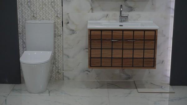 IDEVIT Alfa Stand WC Spülrandlose Dusch Taharat WC