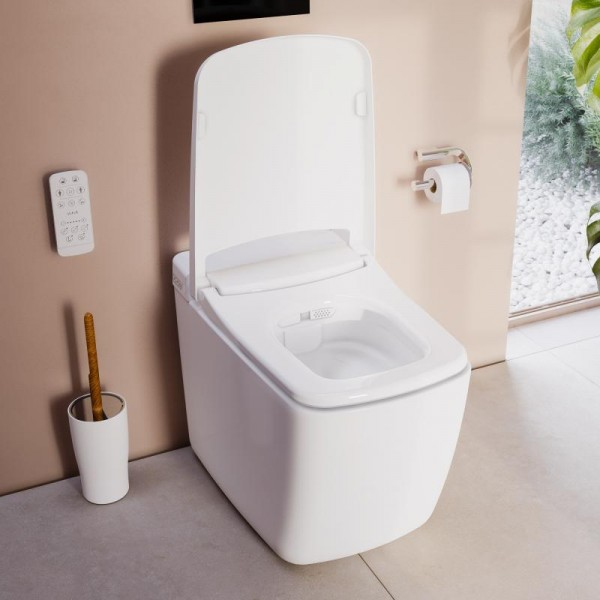 VitrA V-Care Prime Comfort 1.1 Stand Dusch-WC Neues Modell 7232B403-6217
